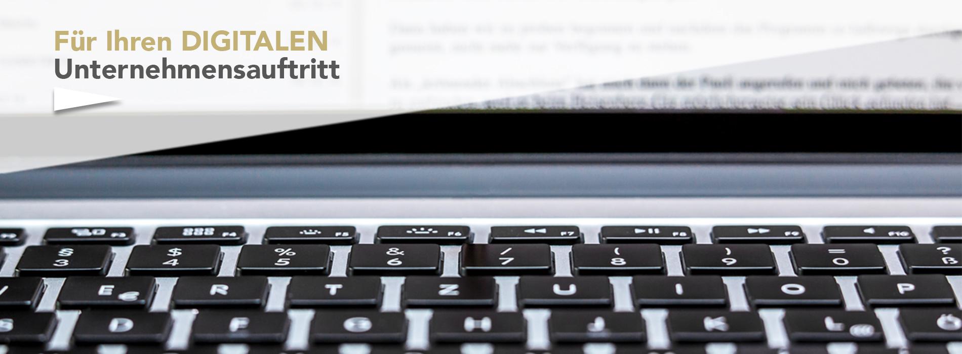 Ihr digitaler Unternehmensauftritt, hm-KommUNIKATion